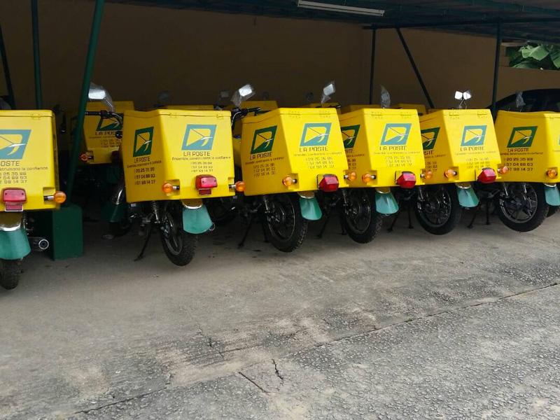 La poste c te d 39 ivoire la poste le leader de la livraison - La poste demenagement changement d adresse ...