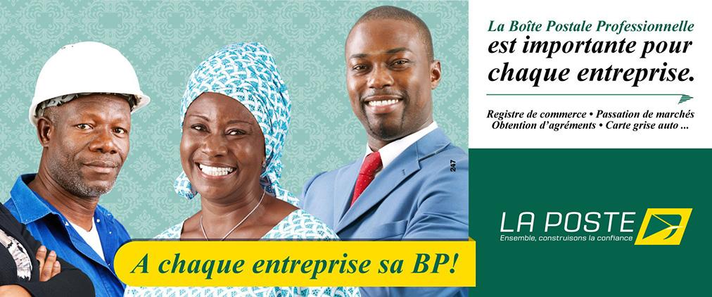 Populaire La Poste Côte d'Ivoire | Ensemble, construisons la confiance QF88